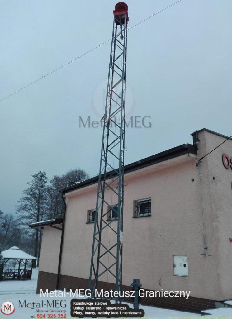 Wieża syreny OSP